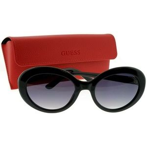 Guess GU7576-01B-55 Women's Sunglasses
